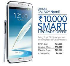 Samsung Galaxy Note 2 offer