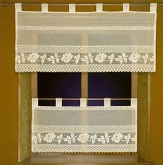 1000 images about cortinas on pinterest miniature - Cortinas originales para cocina ...