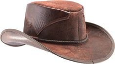 1a0741600eb Head n Home Men s Arroyo Weathered Leather Western Hat