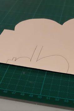 Weihnachtskarten selber basteln in wenigen Minuten Bricolage, Stencils, Handarbeit