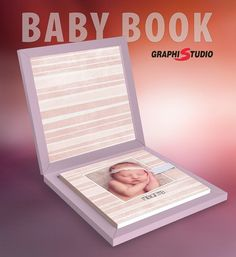 Mix and match the colors available for #babybook.  #graphistudio…