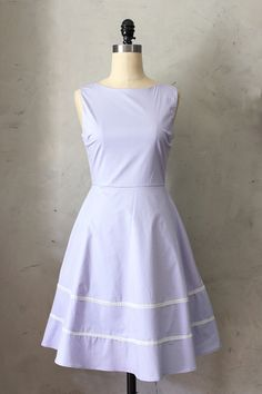 SOLD-Fleet Collection - Coquette Dress in Lavender, size small.
