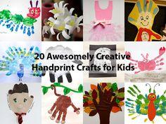 20 Creative Handprint Crafts for Kids