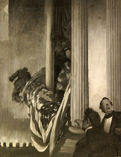 JAY HAMBIDGE- The Assassination of Lincoln. Shaping America exhibition at the BYU MOA.