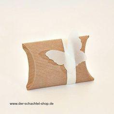schöne Deko Idee: Schmetterling aus Transparentpapier. Www-der-schachtel-shop.de