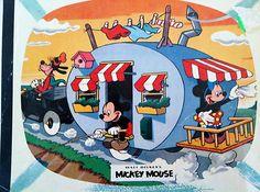 "1961 Jaymar 100 Piece Puzzle ""Mickey's Trailer Trip"" Disney's World of Color | eBay"