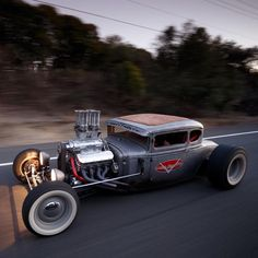 1931 Ford Model A Coupe – D'Johnny by Gode… – Gatsby Online Rat Rods, Rat Rod Cars, Muscle Cars, Sick, Traditional Hot Rod, Us Cars, Ford Models, Custom Cars, Old Trucks