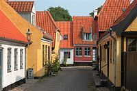 Town of Aeroskobing in Denmark, the place we will be married and spend 2 days and 3 nights relaxing, cycling and enjoying our first few days as a married couple.
