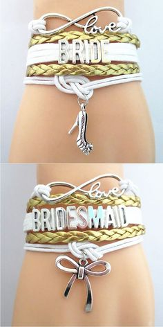Show off the Bridal Party with these premium Infinity Love hand-made Braided Leather Bracelets! Don't Miss our Sales Event. Makes a great gift for the Bridesmaid or Maid of Honor. - burgundy summer dress, dress designer, gold dress womens *sponsored https://www.pinterest.com/dresses_dress/ https://www.pinterest.com/explore/dresses/ https://www.pinterest.com/dresses_dress/flower-girl-dresses/ https://www.anthropologie.com/dresses-casual-everyday