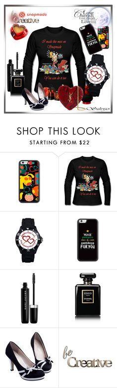 """""""SnapMade no.23"""" by silvijo ❤ liked on Polyvore featuring Marc Jacobs, Chanel, Letter2Word and Yves Saint Laurent"""