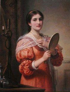 Charles Edward Perugini ~ Victorian Era painter