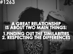 Relationships. Rules to making them work!