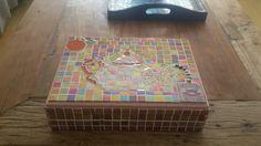Mosaic tea box #mosaicteabox #tealovers #handmadebyme