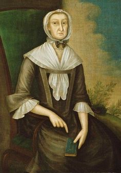1750-1760 Joseph Badger (American Colonial Era artist, 1798-1765) Mrs. John Edwards (Abigail Fowle).