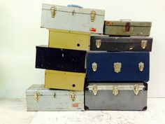 Metal tool chests