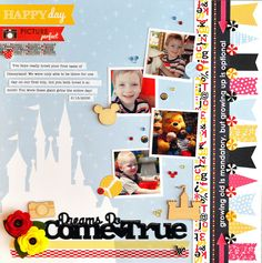 Dreams Do come True - Scrapbook.com - Made with the new and soon  to be available Queen and Company products.