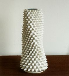 Spiky White Vessel