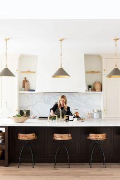 Kitchen On A Budget, Home Decor Kitchen, Kitchen Living, Home Kitchens, Kitchen Ideas, Black Kitchens, Interior Modern, Interior Design Kitchen, Modern Kitchen Design