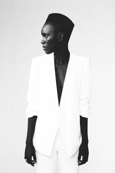 Black & White Minimalist Fashion Photography by Miguel Goni Aquinaga