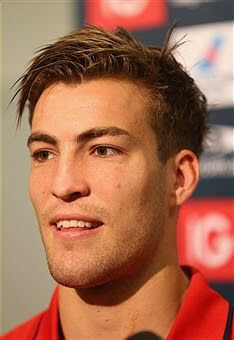 Jack Viney at a press conference Rugby Players, Demons, Conference, Melbourne, Football, Club, Hs Football, Futbol, American Football