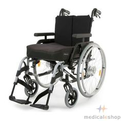 Breezy elegance platinum folding manual wheelchair | best in mobility for special needs | at Special Price $899.00