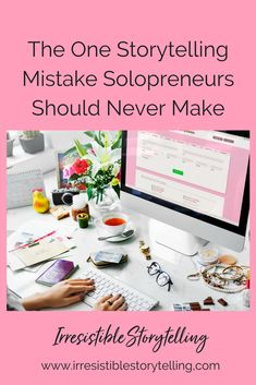 Are you a solopreneur or small business owner who often falls in the trap of embellishing your company's story to make you look bigger than a shop of one or just a few? If so, stop making that mistake today and embrace your reality and experience! Check out why solopreneurs should never make this mistake!