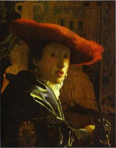 Jan Vermeer. Girl with a Red Hat.