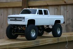 Rebuilding my RC Chevy Crewcab 4x4 - The 1947 - Present Chevrolet & GMC Truck Message Board Network