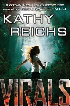 Virals by Kathy Reichs  My Bio teacher is reading this to us. My friend is bringing me the copy she rented from the library so I can finish it before the class. The second on I bought over the weekend has been haunting me. I'm so excited~!