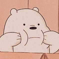 Ice Bear We Bare Bears, We Bear, Cartoon Icons, Cartoon Memes, Cartoons, Bear Wallpaper, Disney Wallpaper, Music Cover Photos, We Bare Bears Wallpapers