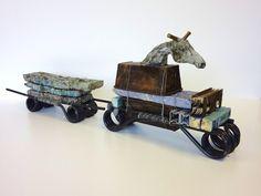 Paard en wagen van Desiré Haverkamp