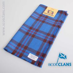 Clan Elliot Tartan Headsquare. Free worldwide shipping available