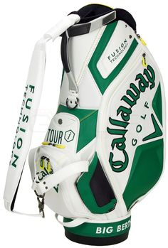 "When you think of a ""dream bag"" and a wish list of awesome Callaway golf equipment, you need a bag to put everything in.........this bag says it all....... Christmas, tradition unlike any other, and the best thing to ever hit golf: Callaway Golf and The Masters!"