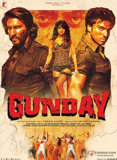 Gunday Movie Review | Rating: 3.5/5 Stars (Three and half stars) | Starring Priyanka Chopra, Ranveer Singh, Arjun Kapoor