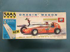 Hawk Dragster Model Kit