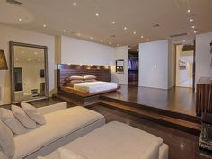 bedroom of Typically Luxurious Residence of Beverly Hills