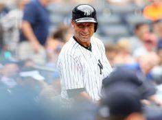 derek jeter i will retire a yankee New York Yankees Stadium, Ny Yankees, Derek Jeter, Retirement, Mlb, Baseball Hats, Seasons, Sports, Jackets