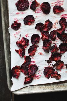 beet chips by the little red house, via Flickr