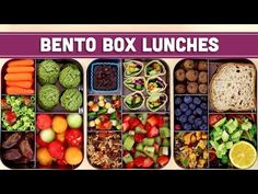 18 Easy Vegan Lunch Box Ideas for Work (Adult Bento) – nothingideas Lunch Box Recipes, Easy Dinner Recipes, Lunch Ideas, Bento Ideas, Meat Recipes, Vegetarian Recipes, Snack Recipes, Healthy Gluten Free Recipes, Healthy Recipe Videos