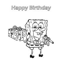 fado chicago st patricks day coloring pages | Free Printable Spongebob Squarepants Coloring Pages ...