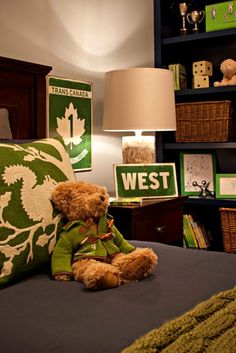 boy's bedroom detail interior design by corea sotropa via http://www.thepinkchandelier.ca