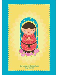 Mary: Our Lady of Guadalupe by Shining Light Dolls