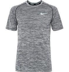 Nike RunningKnit-Panelled Dri-FIT T-Shirt
