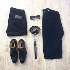 WEBSTA @ mrjunho3 - It's the freakin' weekend vibes 🍻Top: @thekooplesofficial shoulder zipper sweater Jeans: @topmanShoes: Mercanti FiorentiniBelt: @bananarepublicShades: @pradaWatch: Emporio Armani•••••#menswear #menstyle #dapper #menwithstreetstyle #minimal #mensfashion #outfitoftheday #gq #ootd #mensstyle #lookbook #outfitsociety #urbanstyle #thekooplesofficial #topman