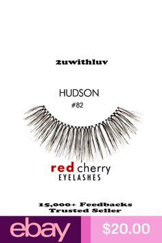 427206bf0b9 $20.0 AUD - 3 X Red Cherry 100% Human Hair Black False Eye Lashes ...