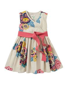 Joules Croquet Girls Dress