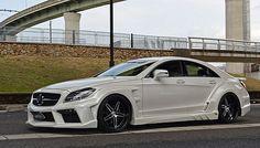 VITT Mercedes CLS Tuned Aggressively
