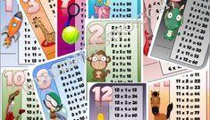 Juegos de matemáticas para imprimir - Web del maestro Math, Games, Multiplication Tables, 5 Times Table, Planks Exercise, Teaching Aids, Multiplication Drills, Math Resources, Gaming