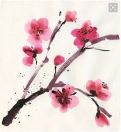 Screen Shot 2016-02-16 at 16.32.25 Cherry Blossom Watercolor, Screen Shot, Plants, Inspiration, Shelves, Painting, Etsy, Biblical Inspiration, Shelving