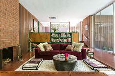 Inside Brynn Jones and Ness Saban's Mid-Century Gem